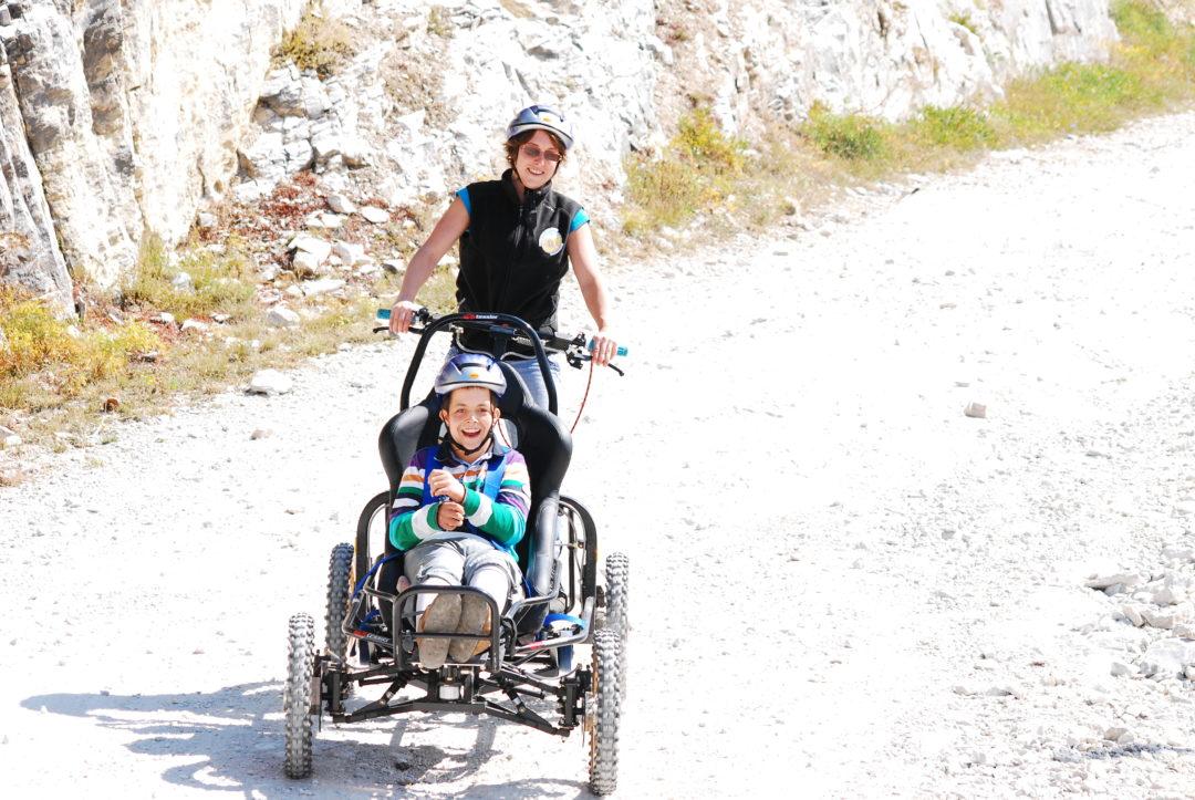 Activités adaptées à Pralognan-la-Vanoise comme le Cimgo en montagne l'été