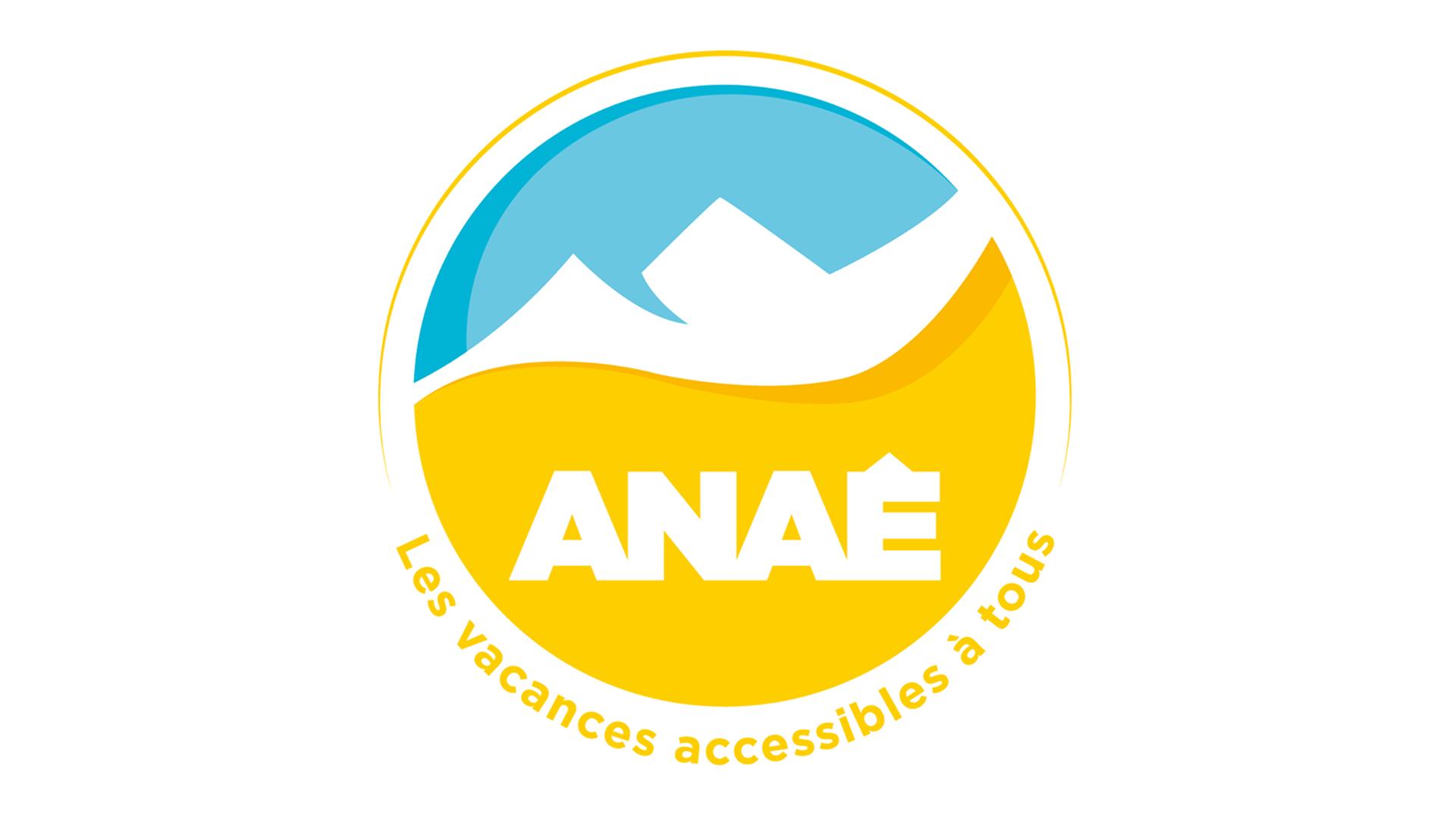 Logo Anae les vacances accessibles à tous