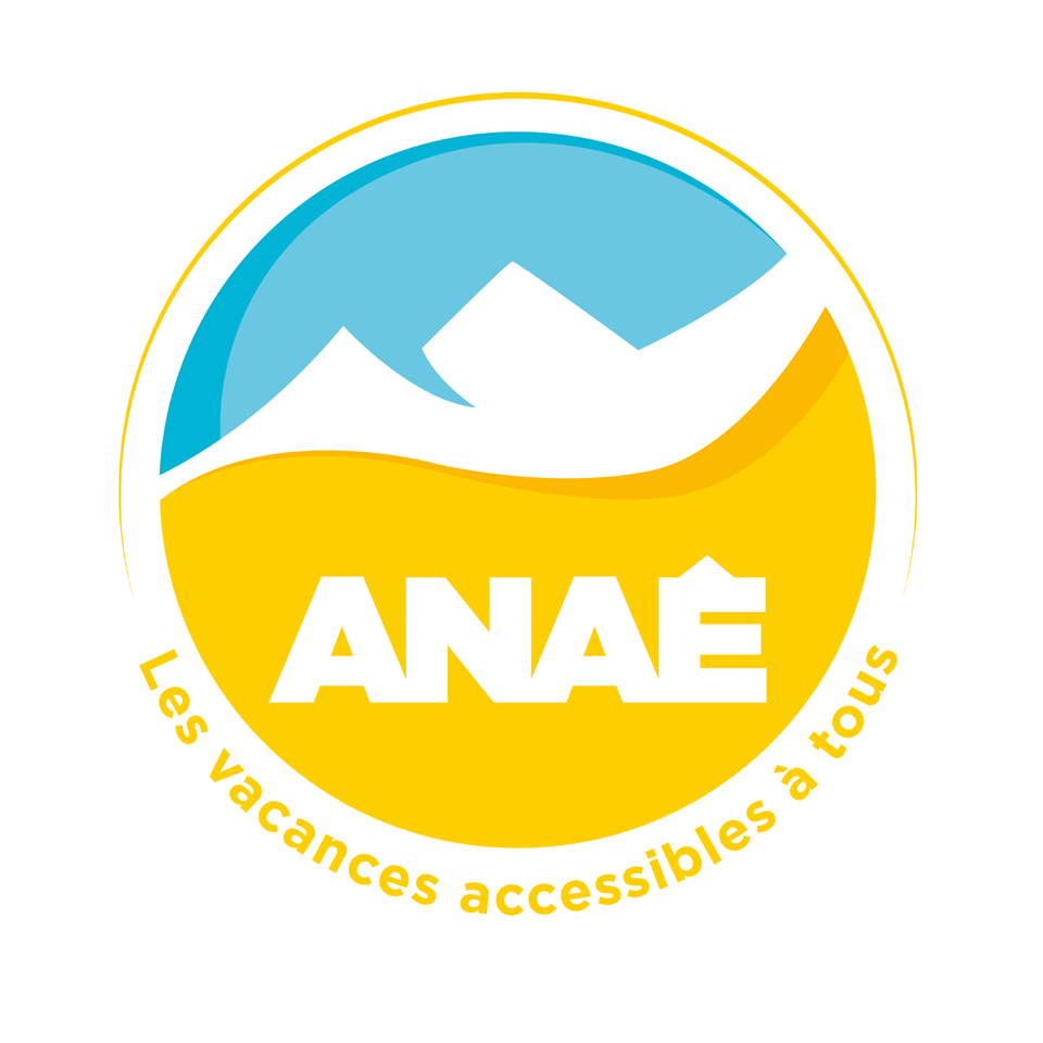 Logo Anae les vacances accessibles à tous