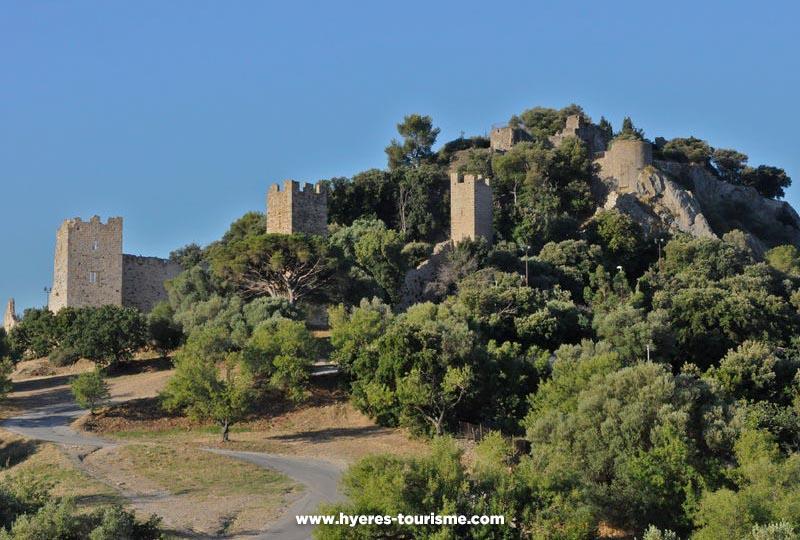 Château des Seigneurs de Fos à Hyères