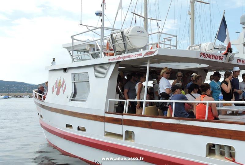 Promenade en bateau à Hyères