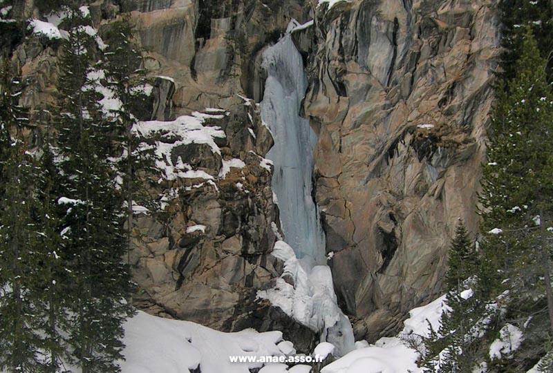 Cascade de la Fraîche à Pralognan-la-Vanoise