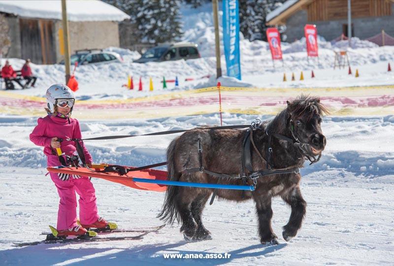 Initiation au ski joering
