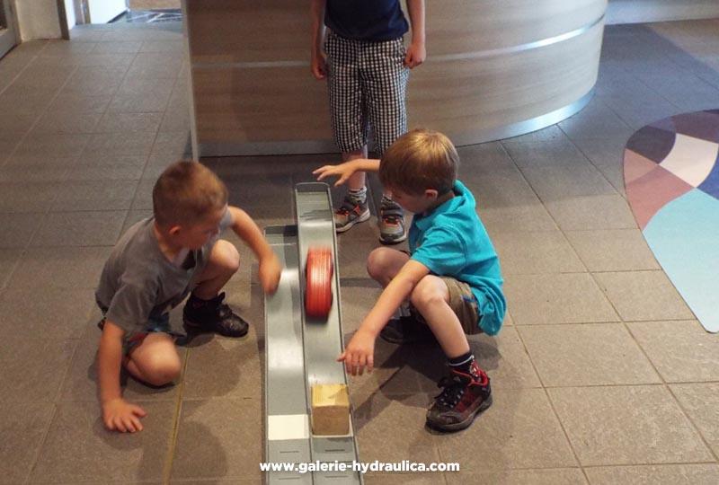 Atelier eau à la Galerie Hydraulica