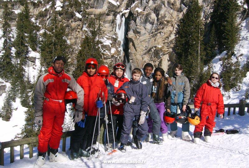 Séance de ski libre avec l'ESF