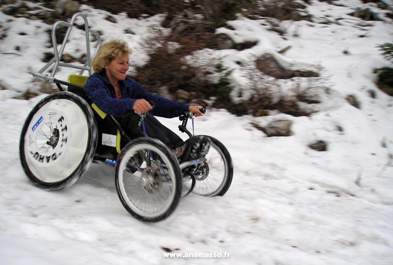 Pratique du fauteuil tout terrain