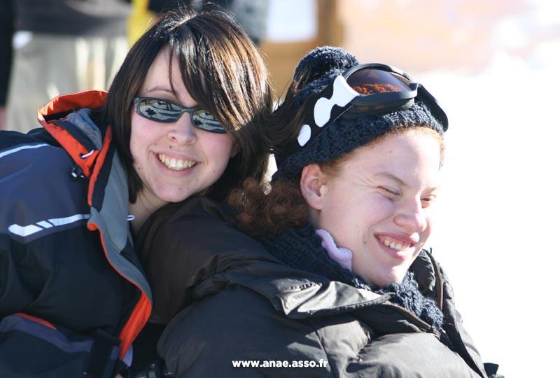 Activité ski adapté PMR