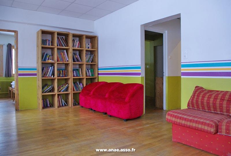 Bibliothèque au chalet de Pralognan
