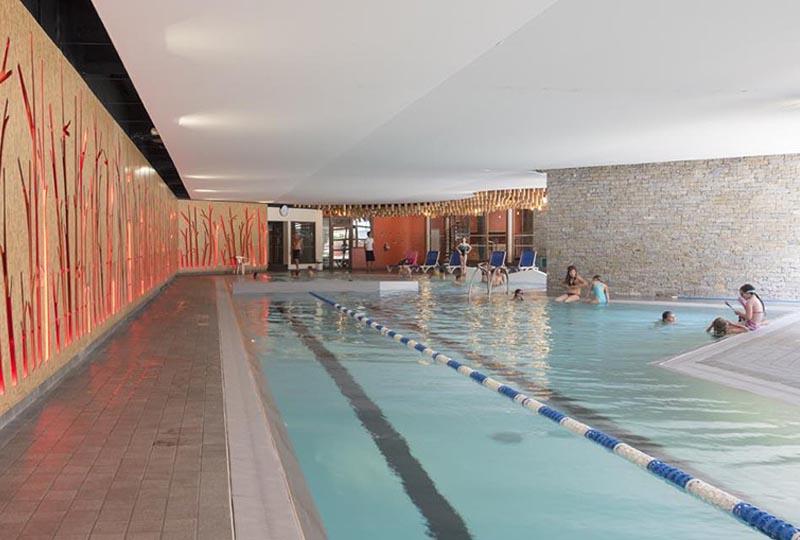 Séance piscine à l'espace aqualudique de Pralognan