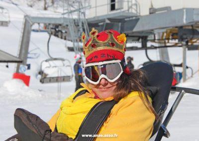 Activité ski assis