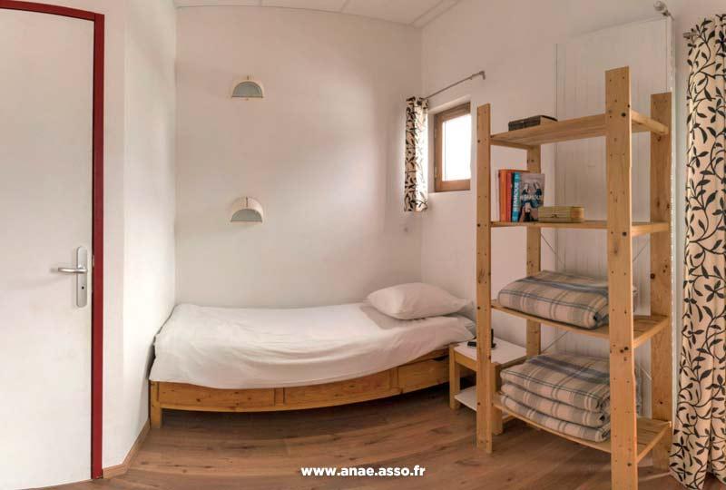 Exemple d'une chambre dans le chalet Anaé de Saint-Sorlin d'Arves