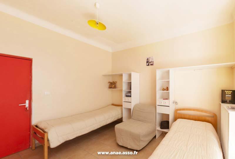 Exemple d'une chambre double à la villa Costebelle