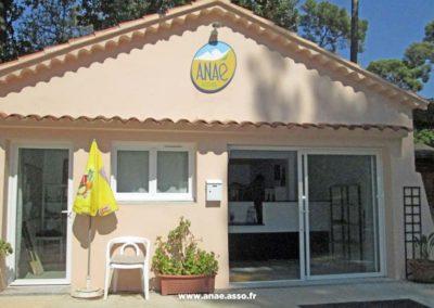 Accueil du centre de vacances Anaé à Hyères